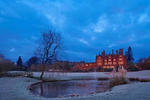 dunston hall view from golf frosty